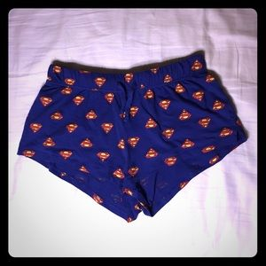 H&M Shorts - Superman Lounge/Pajama Shorts (S)